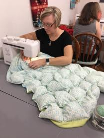 blanket making 5